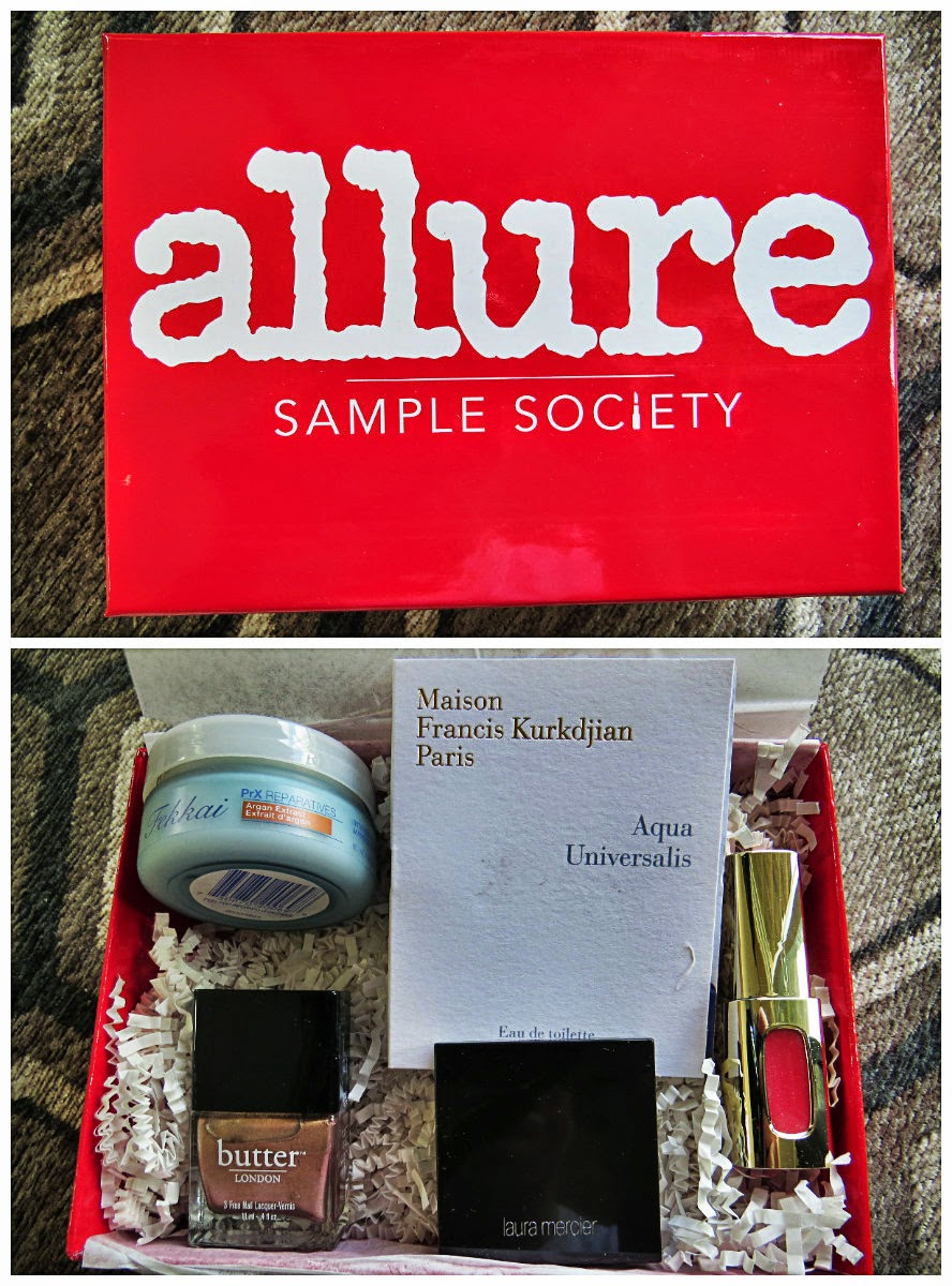 July 2014 Beauty Bar Sample Society