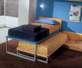pullout double bed, Image