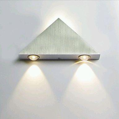 lamparas de pared con luces led parte 1