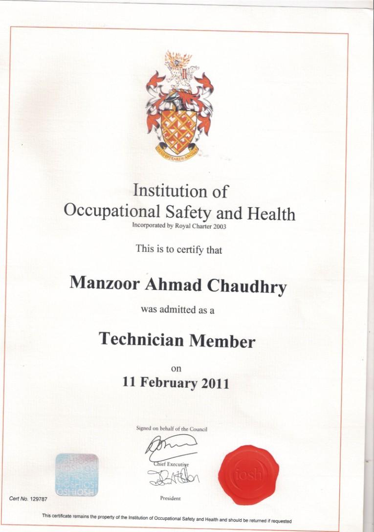 Manzoor Ahmad Chaudhry