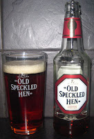 Old Speckled Hen (Morland) - in an Old Speckled Hen Pint Glass