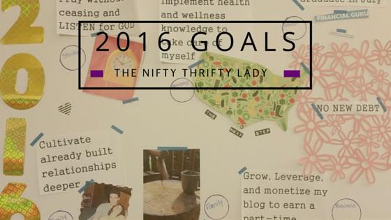 2016 Goal Planning
