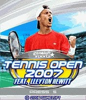 Tennis Open 2007 para Celular