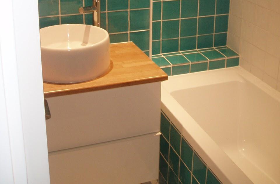 ivan sauveur agencement int rieur cr ation de salle de bain l 39 tage sur plancher bois. Black Bedroom Furniture Sets. Home Design Ideas