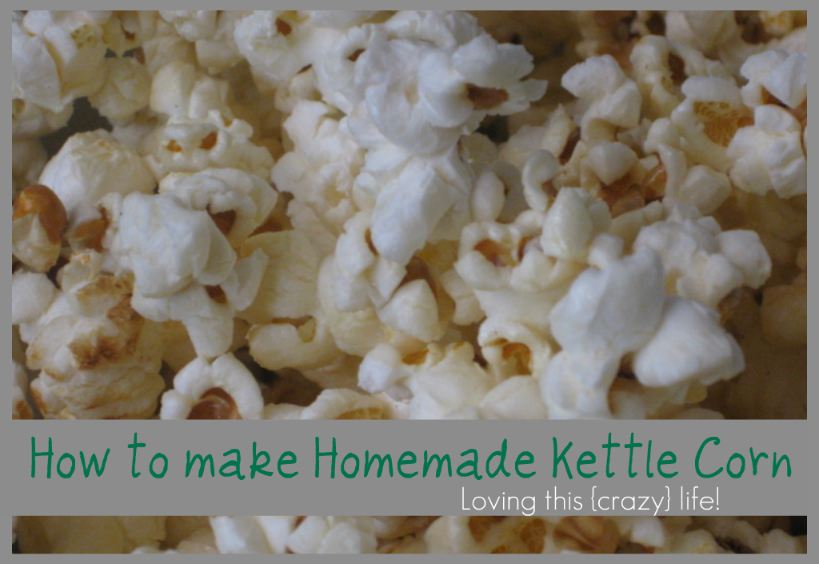 Kettle Corn Kettle Corn Recipe With Whirley Pop