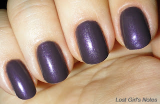 revlon naughty nail polish swatch