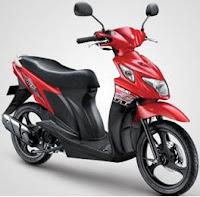 Suzuki Nex 110 red color