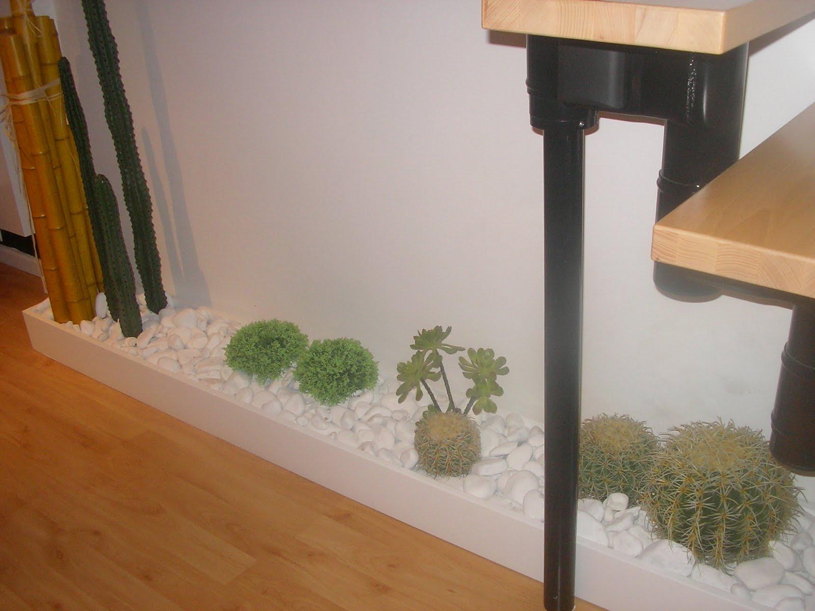 Alzado un jardin interior for Diseno jardin interior