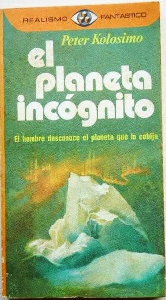 Portada Realismo Fantástico de El Planeta Incógnito de Peter Kolosimo