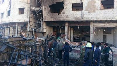 Kuil Syiah Damaskus di Serang BOM Bunuh Diri