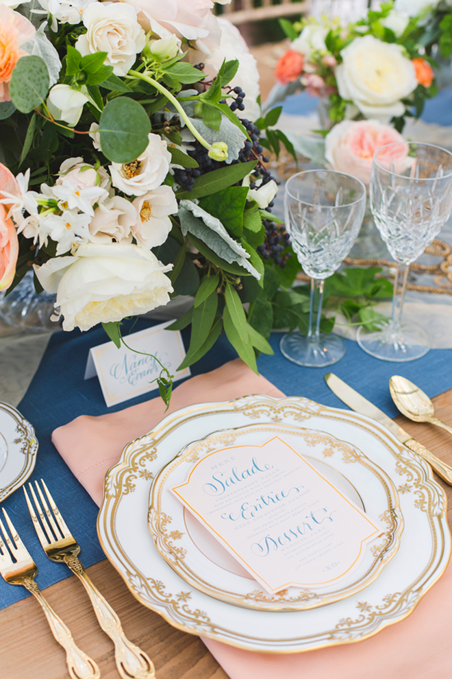 Wedding Place Settings Belle The Magazine
