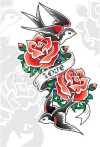 tattoos magazine rose tattoos designs no 1. Black Bedroom Furniture Sets. Home Design Ideas