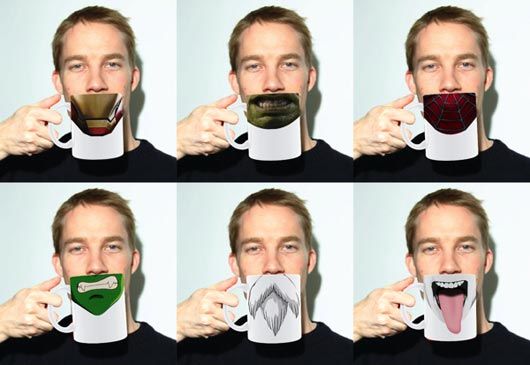 creative mug design - Mug Design Ideas