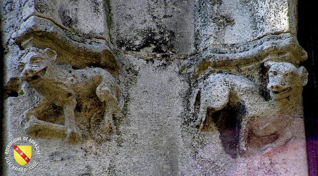 SAINT-NICOLAS-DE-PORT (54) - Basilique Saint-Nicolas (Extérieur - Culots sculptés)