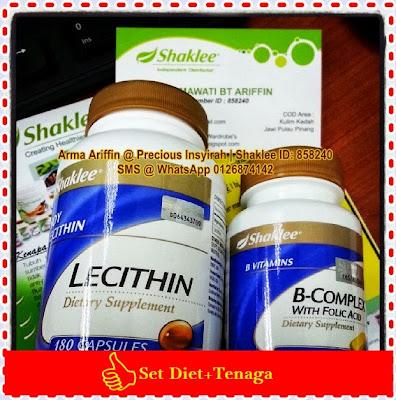 Set Diet & Tenaga