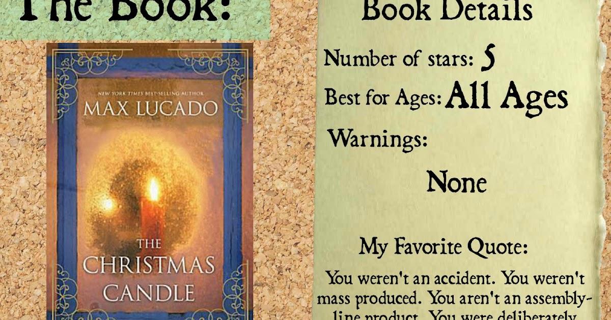 Max Lucado The Christmas Candle