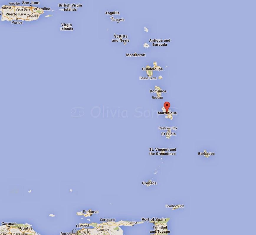 Carte Antilles