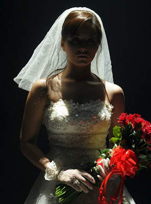 sana khan in wedding dress glamour  images