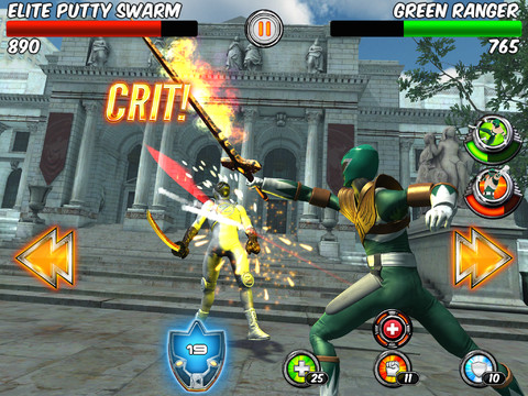more power ranger games