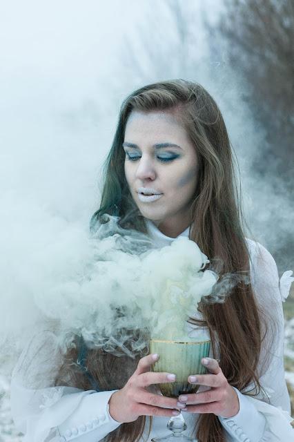 zdjęcie z dymem