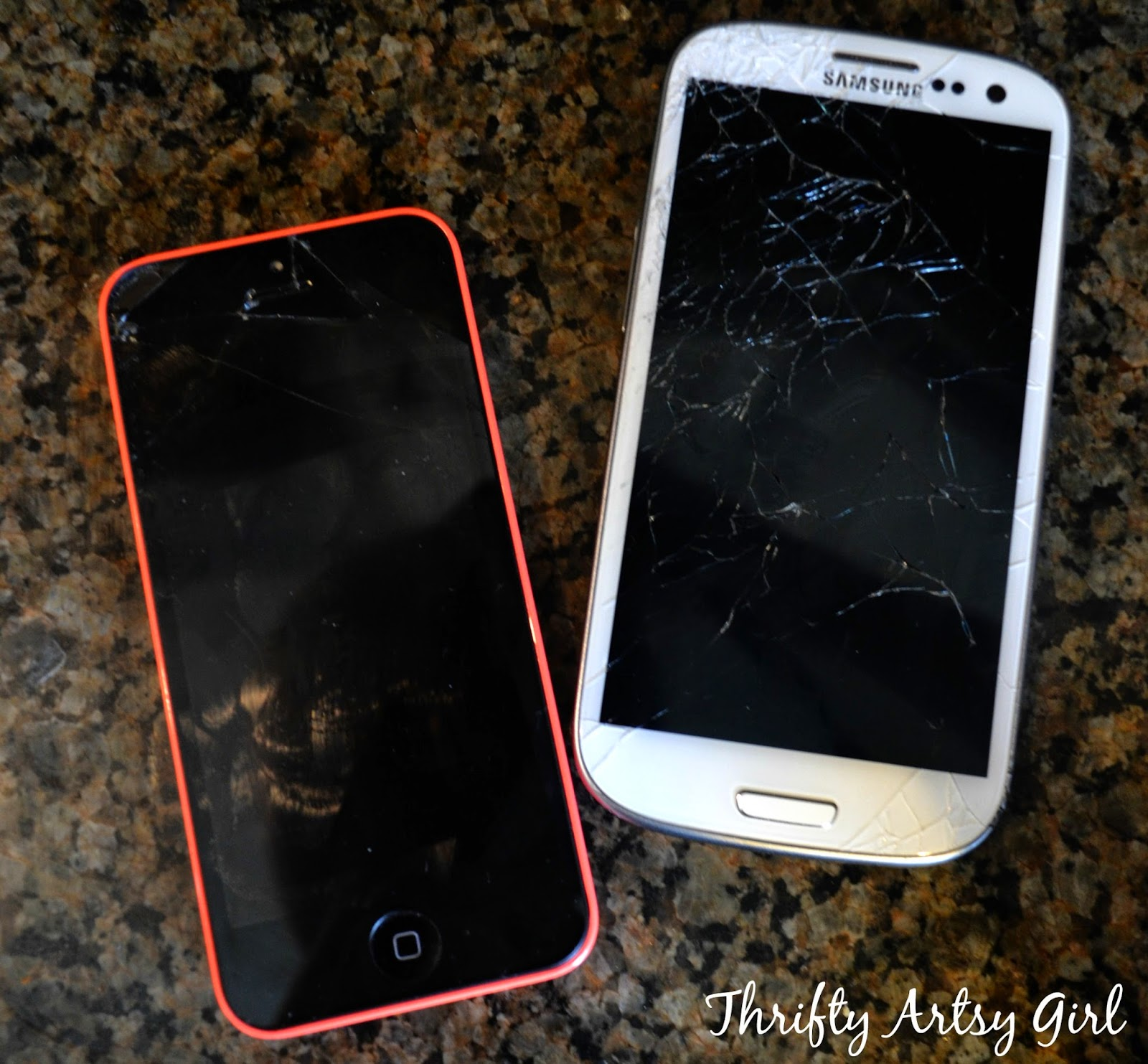 Electronic Fix Cracked Android Phone Screen oops i did it again how to fix your cracked cell phone screen thank goodness her still worked perfect and got me by until my was fixed now know im an iphone lifer after usi