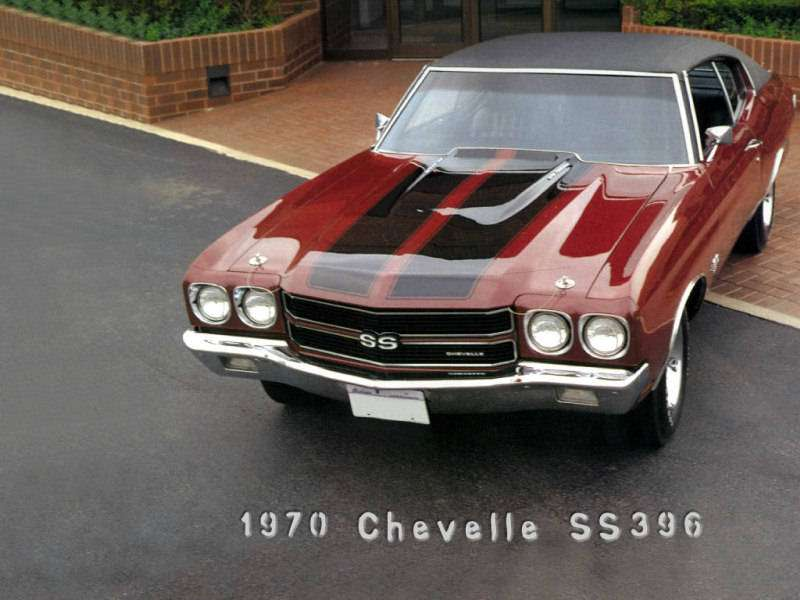 1970 Chevy Chevelle SS muscle