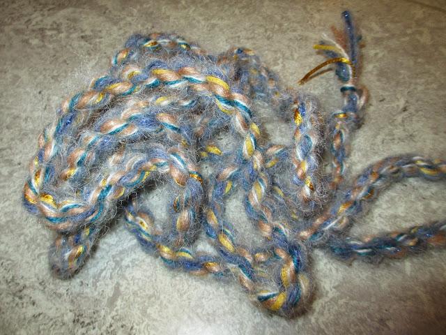 Kordeln aus schöner Wolle