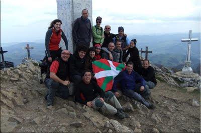 Hernio mendiaren gailurra 1.075 m. - 2012ko martxoaren 17an