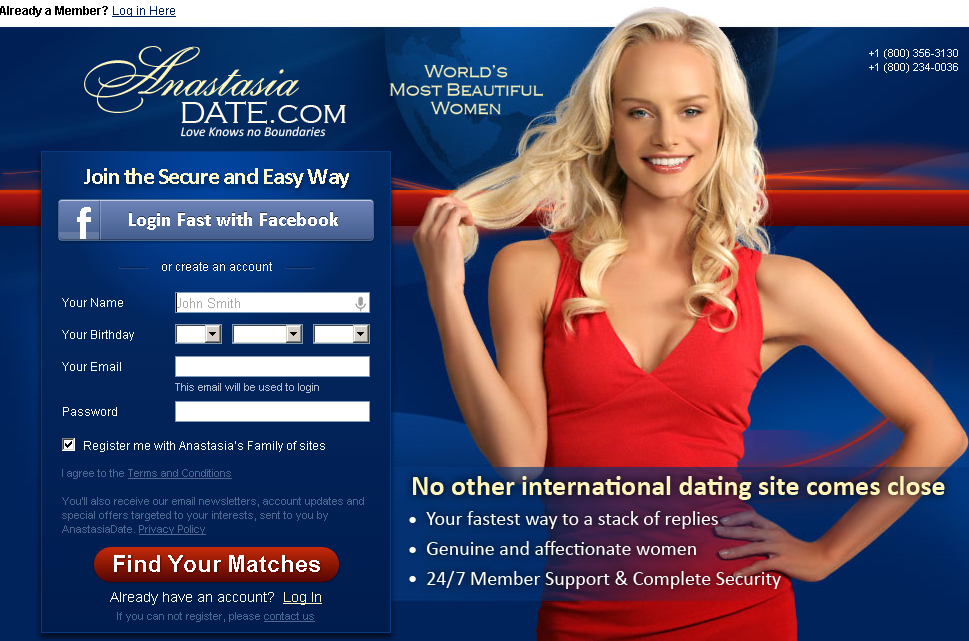 Free dating sites south america