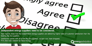 Have you considered an independent energy supplier?