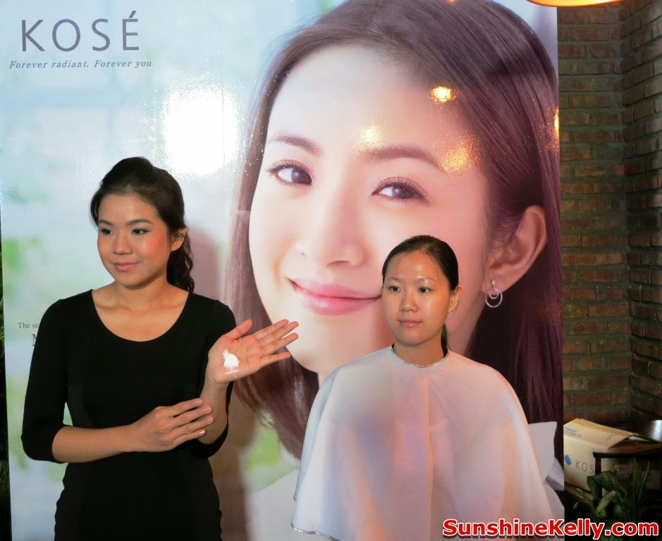 Kose  Sharp Pre CNY Beauty Workshop, cny2014, beauty workshop, kose, sharp, kose sekkisei, makeup, skincare, skincare demo