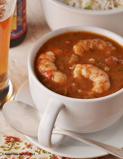 Simple Shrimp Gumbo -- by Pescetarian Journal