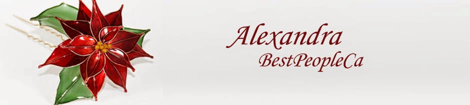 Hair Pins, Kanzashi, and much more by Alexandra from BestPeople.ca