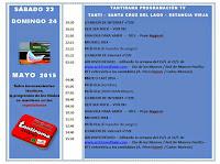 TANTIRAMA PROGRAMACIÓN  desde 23/05 al 30/05