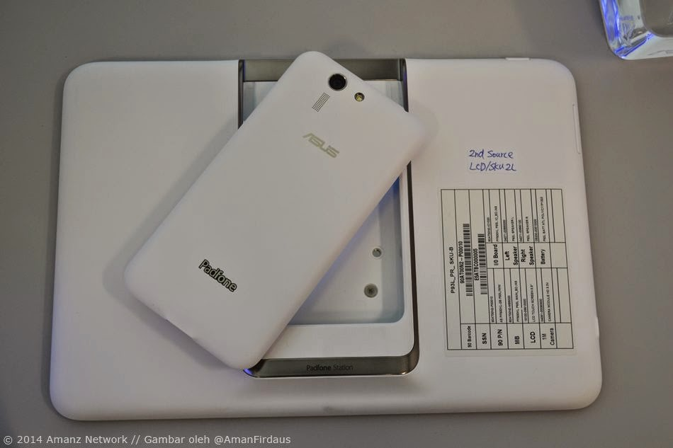 Asus Padfone S Plus Review, zenfone, dock station, ram, gb, samsung, lenovo, maxis, celcom, telefon pintar, smartphone