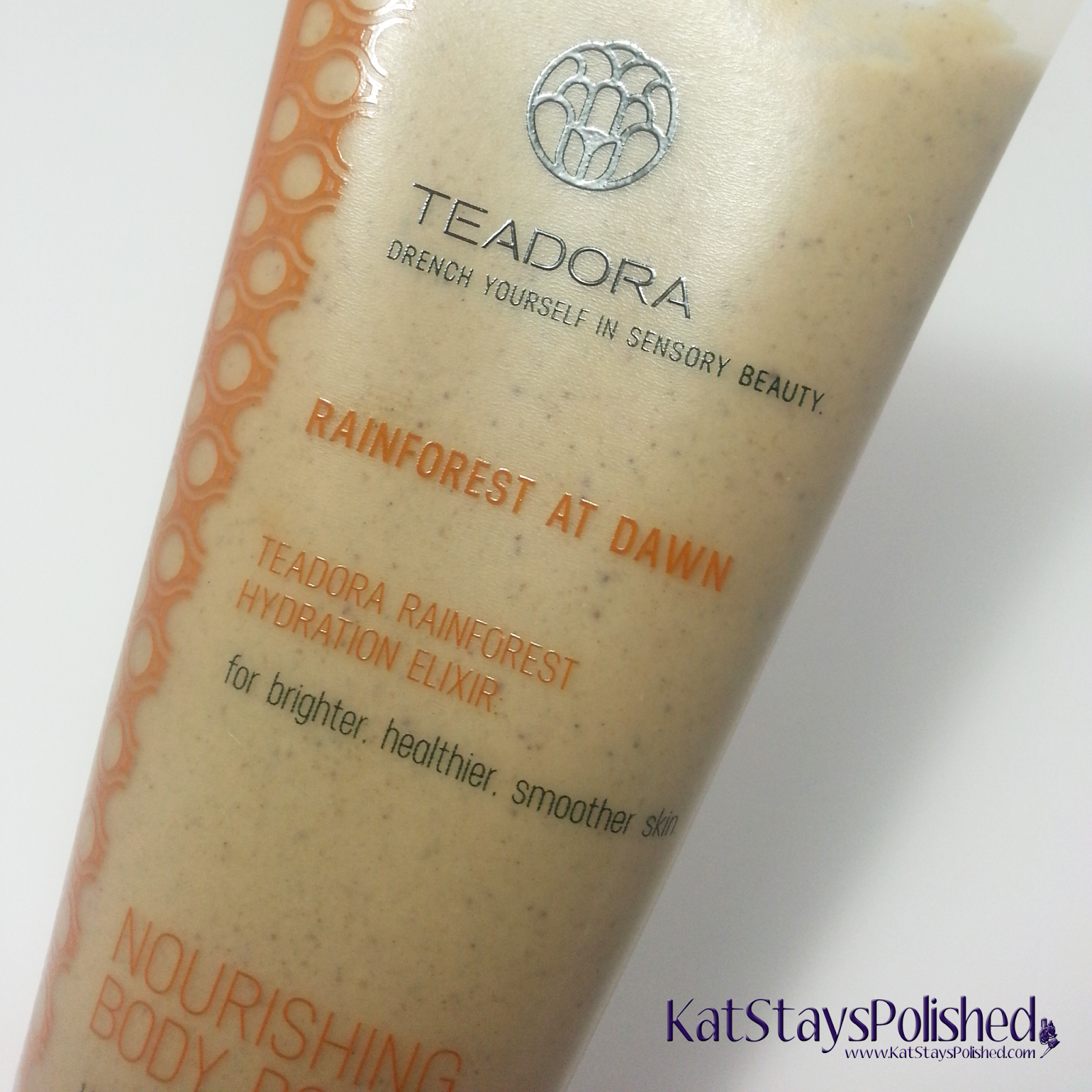 Teodora Nourishing Body Polish - Rainforest At Dawn | Kat Stays Polished