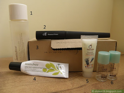 Innisfree, ELF, Tropicana, The Face Shop
