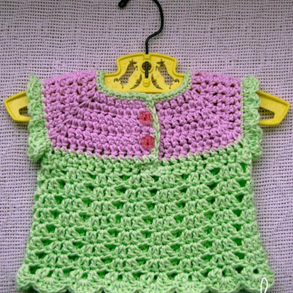 Summer Breeze Baby Sweater