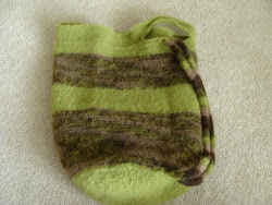Felted Market Bag