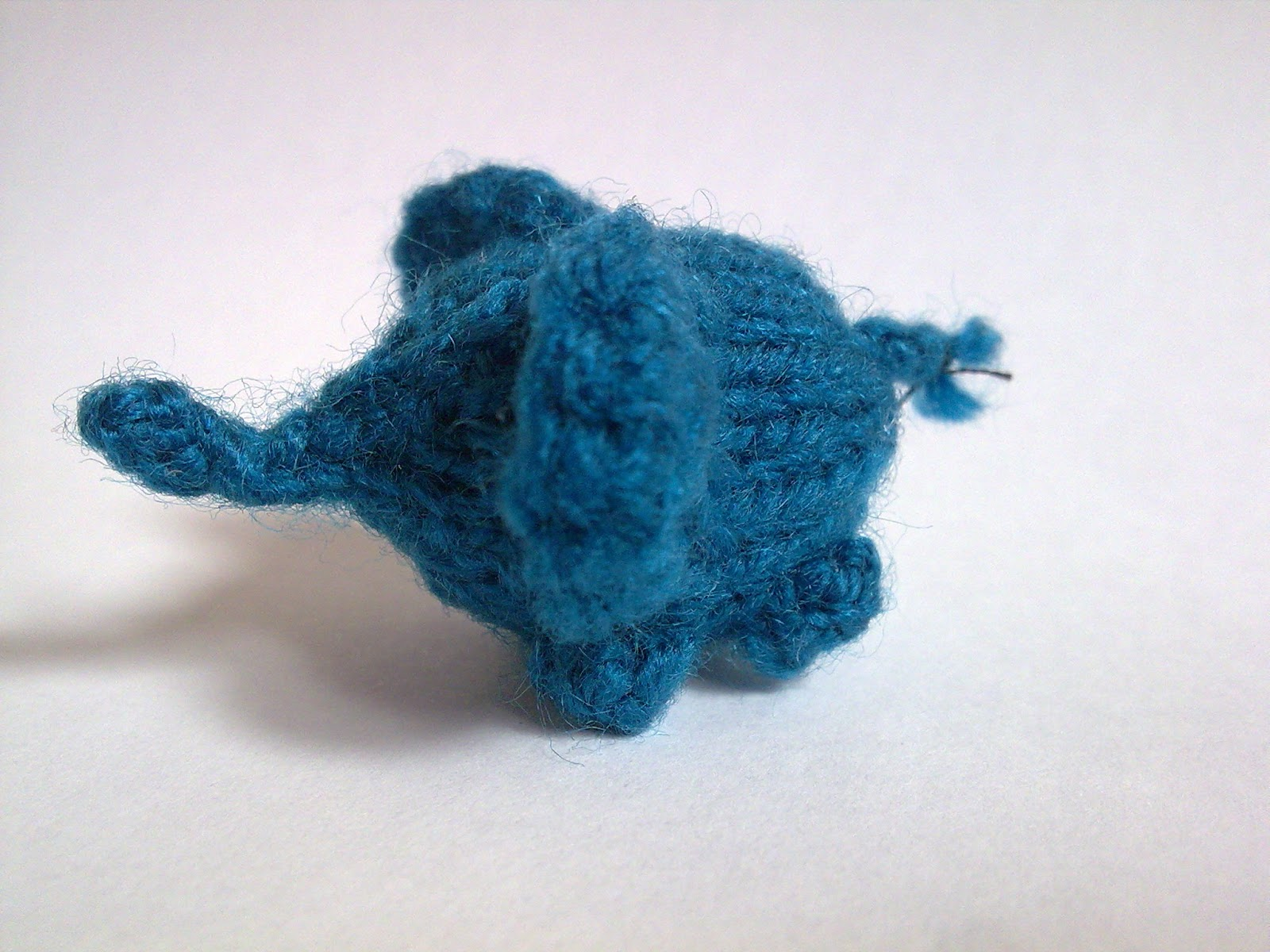 Knitting Kfbf : The nimble mouse teeny tiny elephant