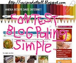 contest blog paling simple