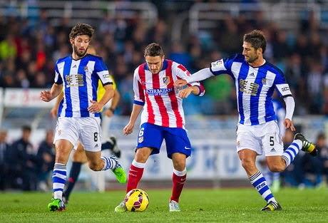 Atletico Ditundukkan Real Sociedad 1-2