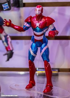 Hasbro 2013 Toy Fair Display Pictures - Iron Man Marvel Legends - Iron Patriot