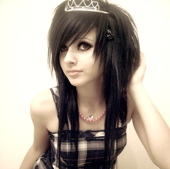 gothic hairstyles for girls. sexy hairstyles for girls.