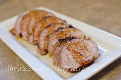 Domestic Creativity: Honey Butter Pork Tenderloin