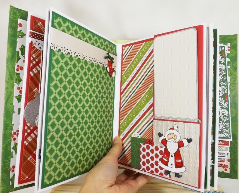 fairy cardmaker baby boy christmas scrapbook album
