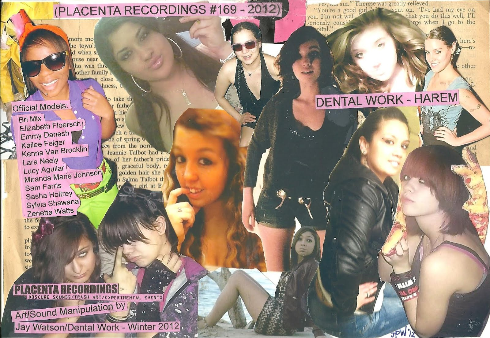 Placenta Recordings February 2012 Casio Ck 1 Circuit Bent Diabolical Happy Valentines Day Dental Work Harem Cd Available Now 169