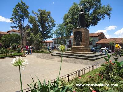 Gertrudis Bocanegra Square in Patzcuaro