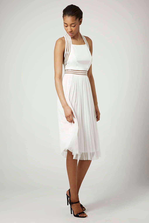 white tfnc dress
