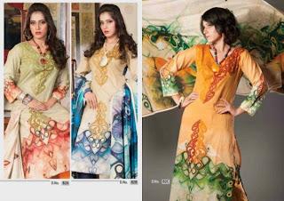 Eid ul fitar embroidery lawn 2013